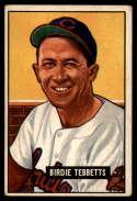 1951 Bowman #257 Birdie Tebbetts VG Very Good RC Rookie