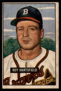 1951 Bowman #277 Roy Hartsfield G Good RC Rookie