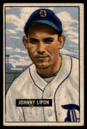 1951 Bowman #285 Johnny Lipon G Good RC Rookie