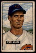 1951 Bowman #288 Bobby Adams G Good