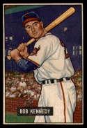 1951 Bowman #296 Bob Kennedy G Good RC Rookie