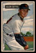 1951 Bowman #304 Al Gettel G Good RC Rookie