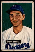 1951 Bowman #56 Ralph Branca G/VG Good/Very Good