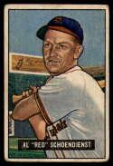 1951 Bowman #10 Red Schoendienst VG Very Good