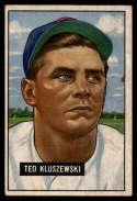 1951 Bowman #143 Ted Kluszewski EX Excellent