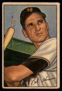 1952 Bowman #2 Bobby Thomson VG Very Good