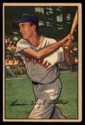 1952 Bowman #6 Virgil Stallcup EX++ Excellent++