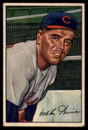 1952 Bowman #7 Mike Garcia VG/EX Very Good/Excellent