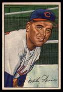 1952 Bowman #7 Mike Garcia VG Very Good