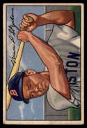 1952 Bowman #9 Vern Stephens VG/EX Very Good/Excellent