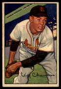 1952 Bowman #14 Cliff Chambers VG Very Good