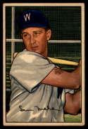 1952 Bowman #15 Sam Mele EX Excellent