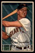 1952 Bowman #18 Don Mueller VG Very Good