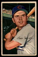 1952 Bowman #32 Eddie Miksis VG/EX Very Good/Excellent