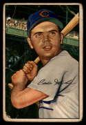 1952 Bowman #32 Eddie Miksis G Good
