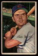 1952 Bowman #32 Eddie Miksis VG Very Good