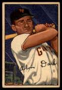 1952 Bowman #34 Alvin Dark UER EX Excellent