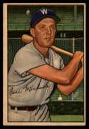 1952 Bowman #36 Cass Michaels EX Excellent