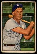1952 Bowman #36 Cass Michaels VG Very Good