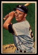 1952 Bowman #38 Whitey Lockman EX Excellent