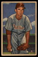1952 Bowman #40 Bubba Church EX Excellent