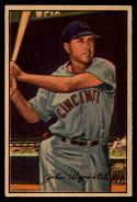 1952 Bowman #42 Johnny Wyrostek VG/EX Very Good/Excellent