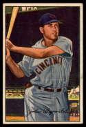 1952 Bowman #42 Johnny Wyrostek EX/NM