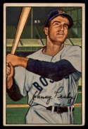 1952 Bowman #45 Johnny Pesky G Good