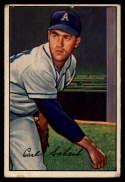 1952 Bowman #46 Carl Scheib G/VG Good/Very Good