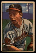 1952 Bowman #48 Vern Bickford VG/EX Very Good/Excellent