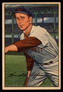 1952 Bowman #55 Ken Raffensberger VG/EX Very Good/Excellent
