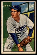 1952 Bowman #56 Clyde King EX Excellent