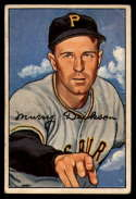 1952 Bowman #59 Murry Dickson VG Very Good