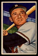 1952 Bowman #60 Sid Gordon VG/EX Very Good/Excellent