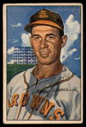 1952 Bowman #61 Tommy Byrne VG/EX Very Good/Excellent