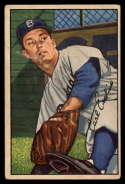 1952 Bowman #70 Carl Erskine VG/EX Very Good/Excellent