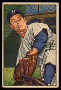 1952 Bowman #70 Carl Erskine VG Very Good