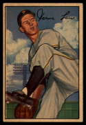 1952 Bowman #71 Vern Law VG Very Good