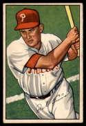 1952 Bowman #76 Del Ennis EX Excellent