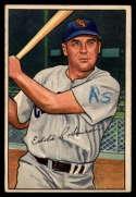 1952 Bowman #77 Eddie Robinson mark