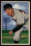 1952 Bowman #83 Howie Pollet EX Excellent