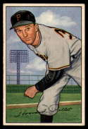 1952 Bowman #83 Howie Pollet VG Very Good