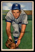 1952 Bowman #87 Mickey Vernon EX Excellent