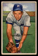 1952 Bowman #87 Mickey Vernon VG Very Good