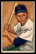 1952 Bowman #104 Hal Jeffcoat VG Very Good