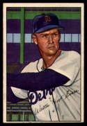 1952 Bowman #111 Walter Evers VG/EX Very Good/Excellent