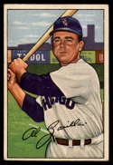 1952 Bowman #113 Al Zarilla VG/EX Very Good/Excellent