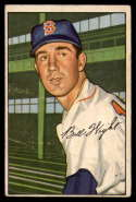1952 Bowman #117 Bill Wight VG Very Good
