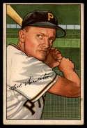 1952 Bowman #119 Bill Howerton EX Excellent