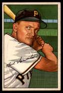 1952 Bowman #119 Bill Howerton EX++ Excellent++